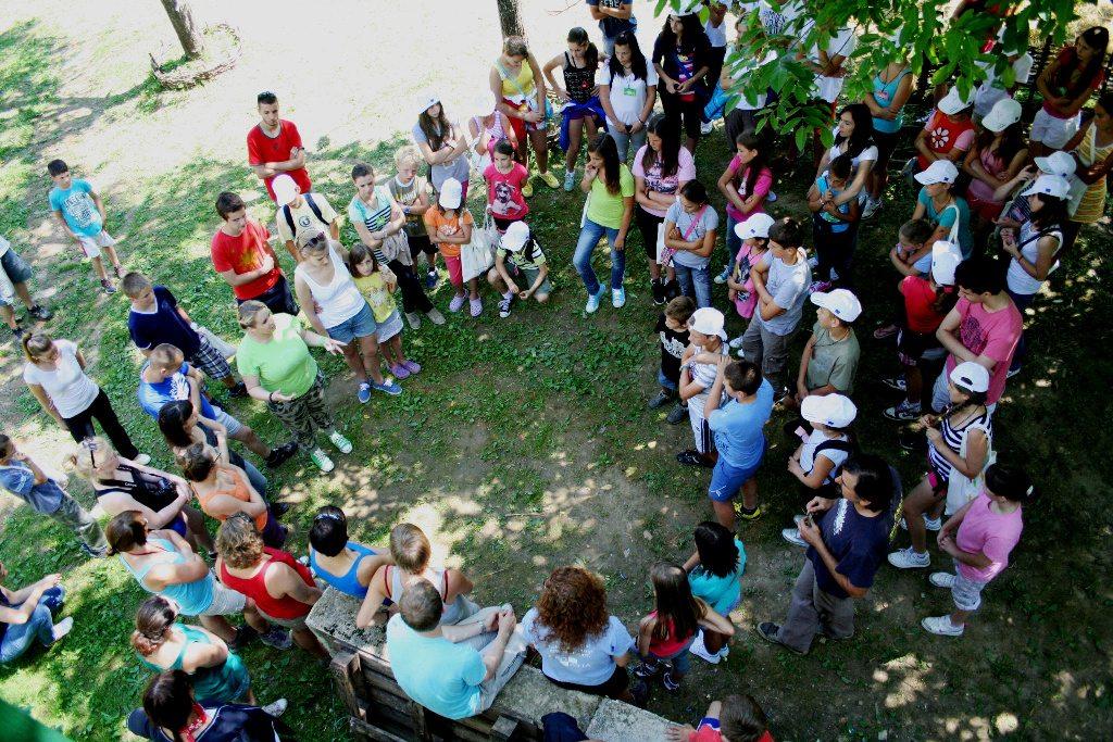 Ljetna škola demokracije/ljetni kamp na Kordunu i Banovini