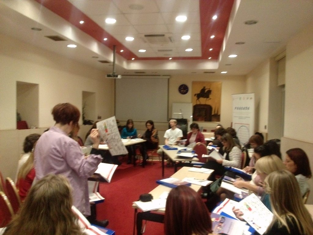 Partner organizations in the PRECEDE project are participating at the Regional Training in Zagreb