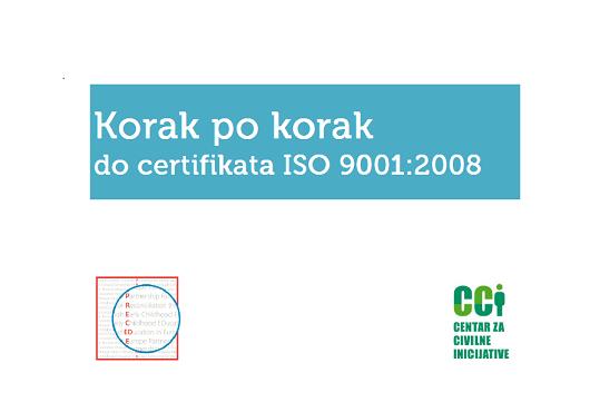 """Korak po korak do ISO certifikata"" za udruge"