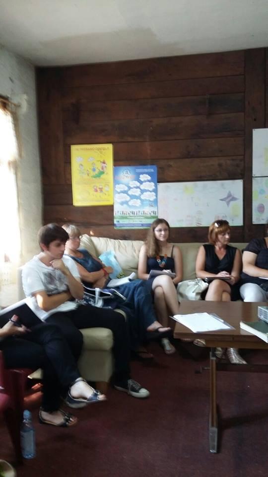 Edukacija udruga udomitelja za djecu u staroj školi sela Kuče