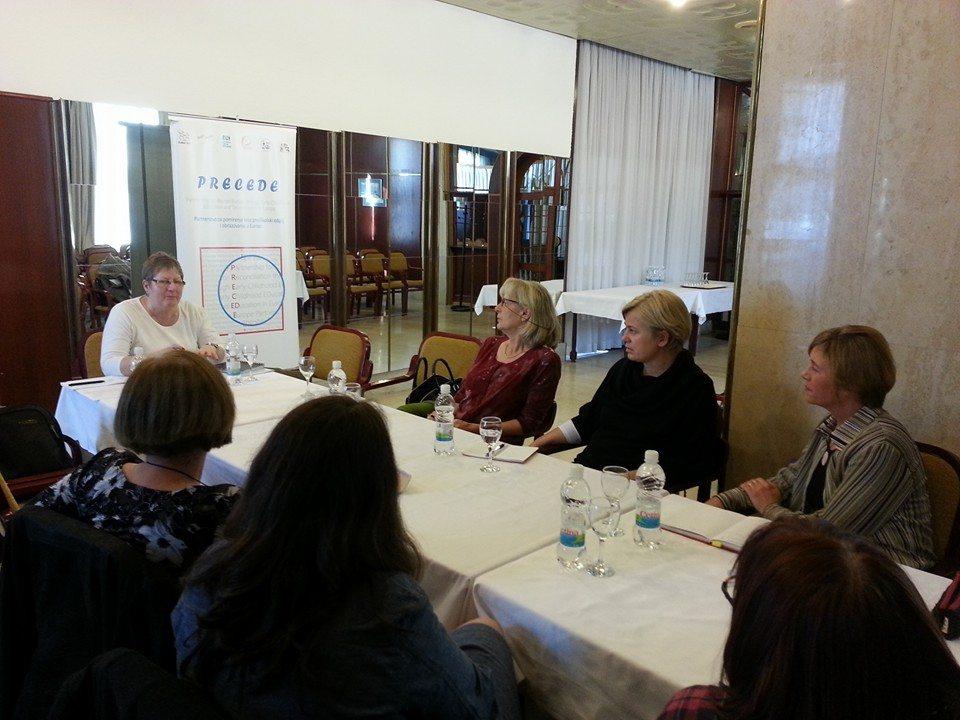 PRECEDE: interna evaluacija fokus grupa