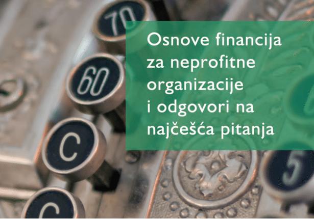 Osnove financija za neprofitne organizacije i odgovori na najčešća pitanja