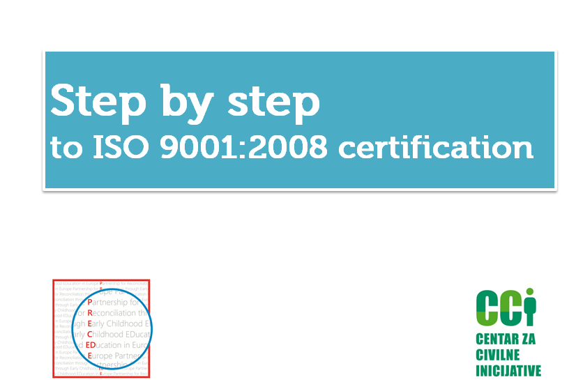 Step by step to ISO 9001 certification