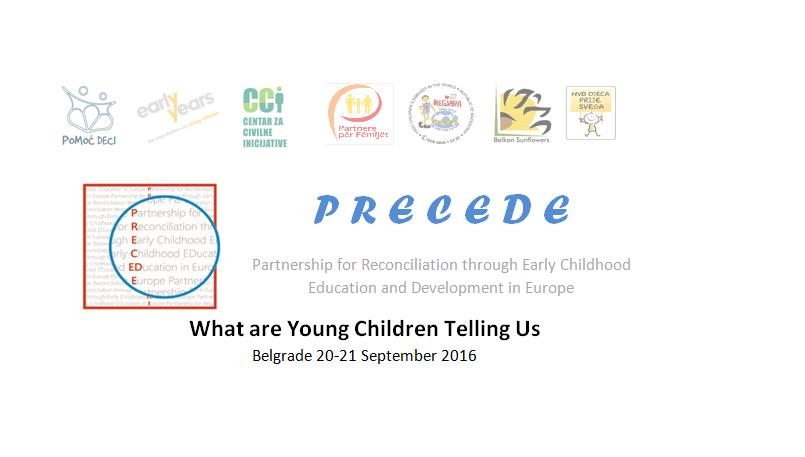 """""""Što nam govore mala djeca?"""" – PRECEDE konferencija u Beogradu"""