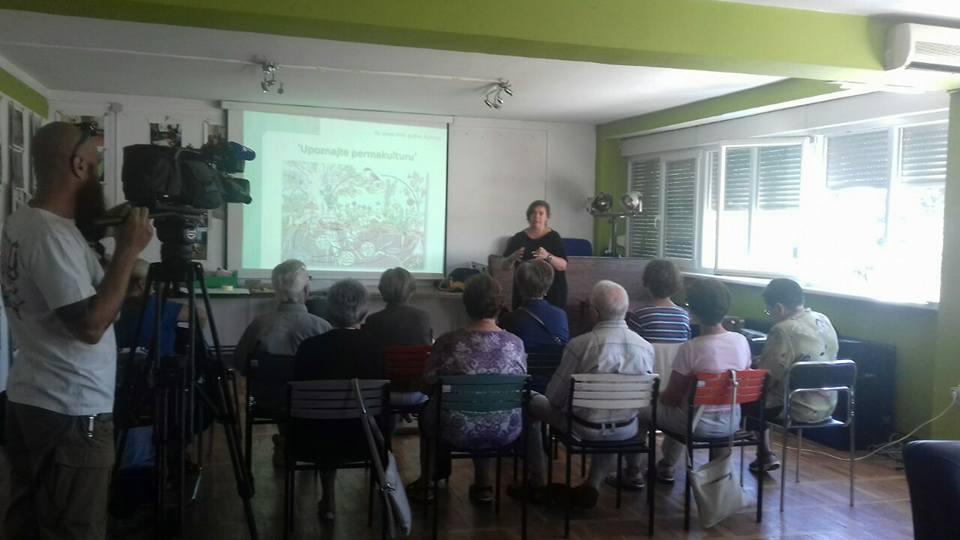 Predavanje o permakulturi u Družionici na Gazi
