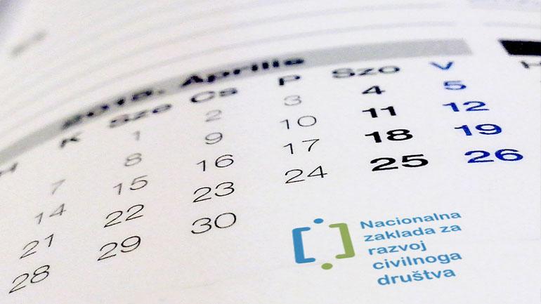 Nacionalna zaklada objavila kalendar radionica
